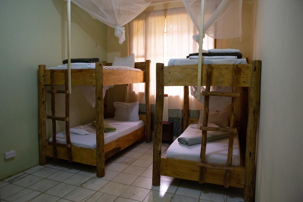 Dormitory Room 4 Bunk Beds The Secret Garden Hotel Moshi